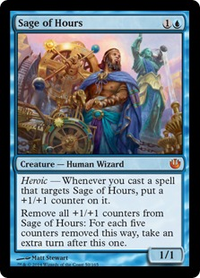 Sage of Hours Magic Card