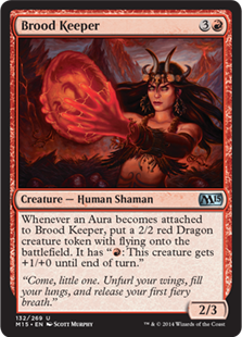 Brood Keeper Magic Card
