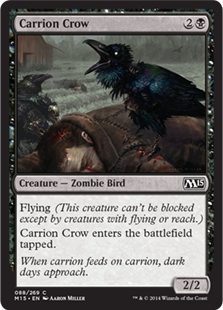 Carrion Crow Magic Card