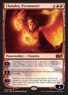 Chandra, Pyromaster Magic Card