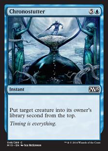 Chronostutter Magic Card