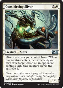 Constricting Sliver Magic Card