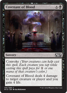 Covenant of Blood Magic Card