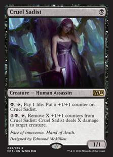 Cruel Sadist Magic Card
