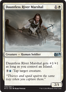 Dauntless River Marshal Magic Card
