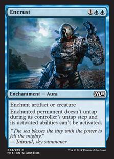 Encrust Magic Card