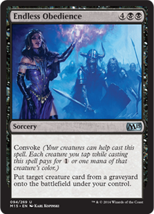 Endless Obedience Magic Card