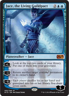 Jace, the Living Guildpact Magic Card