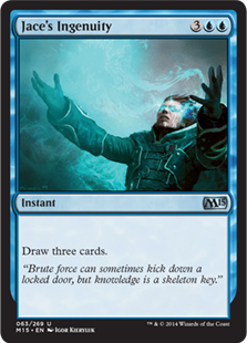 Jace's Ingenuity Magic Card