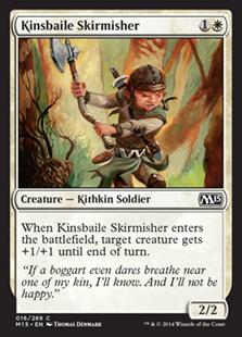 Kinsbaile Skirmisher Magic Card
