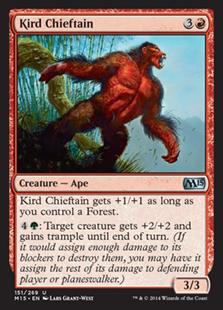 Kird Chieftain Magic Card