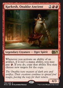 Kurkesh, Onakke Ancient Magic Card