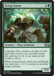 Living Totem Magic Card