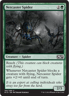 Netcaster Spider Magic Card