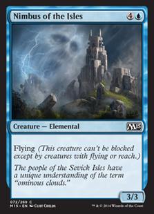 Nimbus of the Isles Magic Card