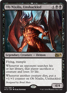Ob Nixilis, Unshackled Magic Card