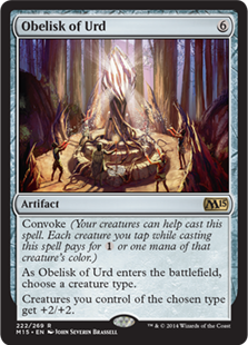 Obelisk of Urd Magic Card