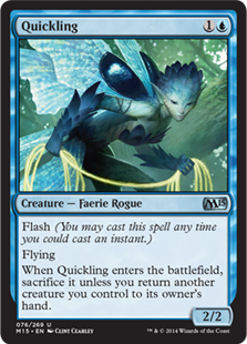 Quickling Magic Card