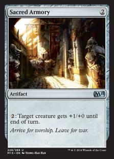 Sacred Armory Magic Card