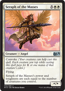 Seraph of the Masses Magic Card