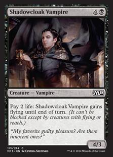 Shadowcloak Vampire Magic Card