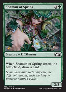 Shaman of Spring Magic Card