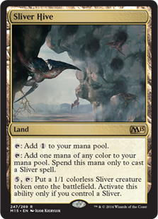 Sliver Hive Magic Card