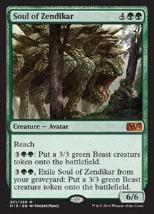 Soul of Zendikar Magic Card