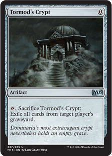 Tormod's Crypt Magic Card