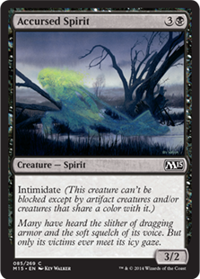 Accursed Spirit Magic Card