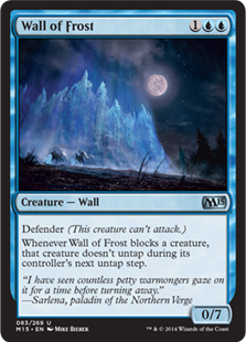 Wall of Frost Magic Card