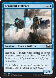 Aeronaut Tinkerer Magic Card