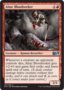 Altac Bloodseeker Magic Card