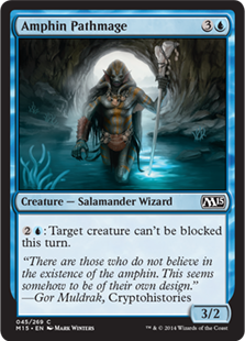 Amphin Pathmage Magic Card