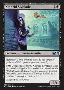 Xathrid Slyblade Magic Card