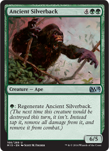 Ancient Silverback Magic Card