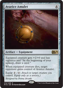 Avarice Amulet Magic Card