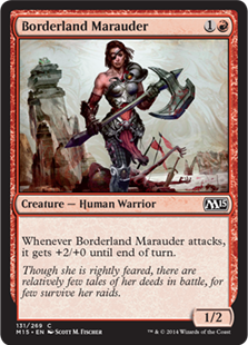 Borderland Marauder Magic Card