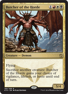 Butcher of the Horde Magic Card