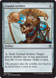 Cranial Archive Magic Card