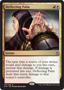 Deflecting Palm Magic Card