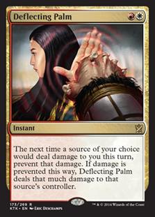 Deflecting Palm Magic Card