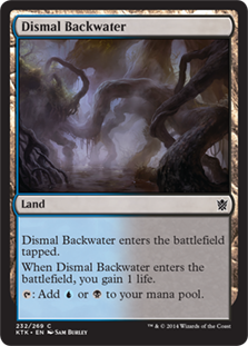 Dismal Backwater Magic Card