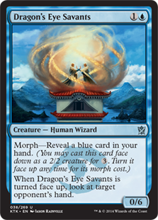 Dragon's Eye Savants Magic Card