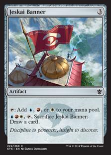Jeskai Banner Magic Card