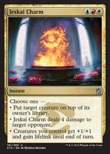 Jeskai Charm Magic Card