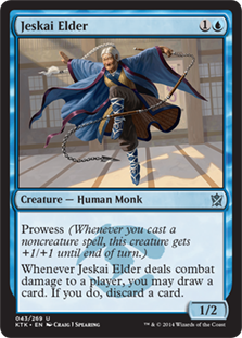 Jeskai Elder Magic Card