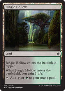 Jungle Hollow Magic Card