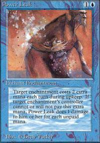 Power Leak Magic Card