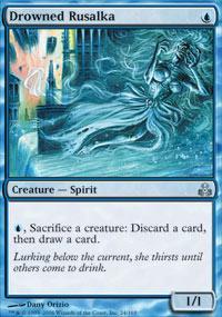 Drowned Rusalka Magic Card